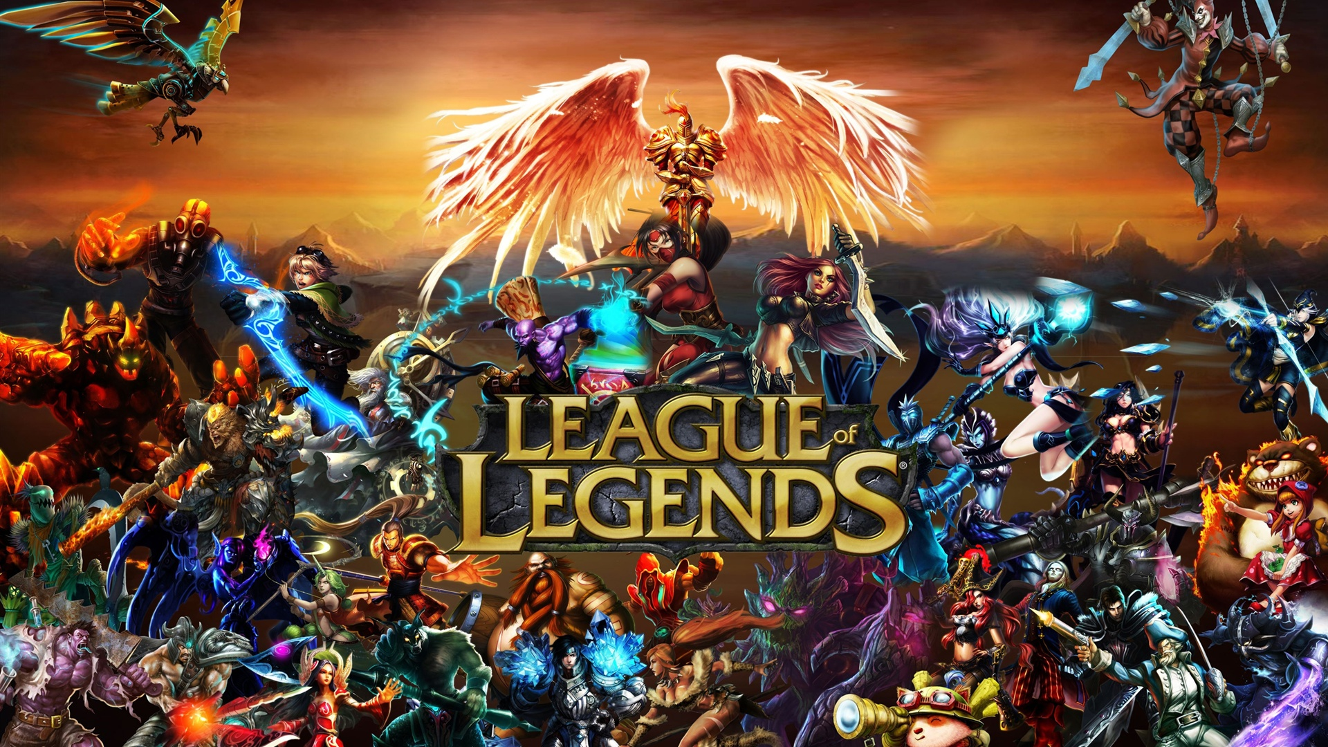 League of Legends - In League of Legends, players assume the role of an unseen