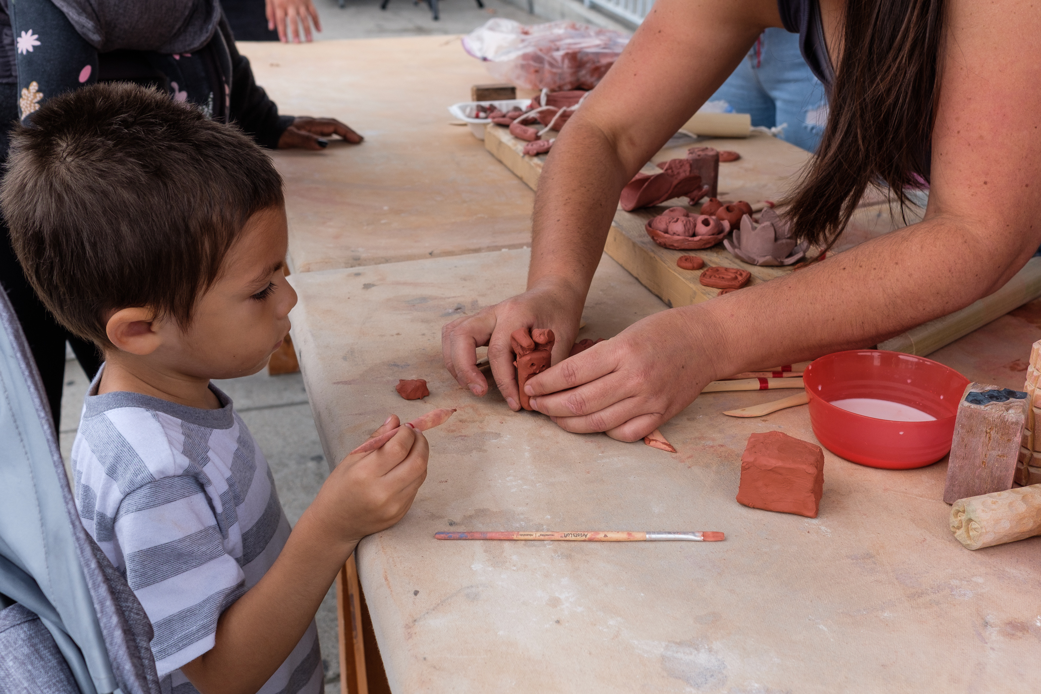 Clay Workshop with Beverly Morrison