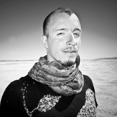"""Forest Stearns  is a prolific visual artist, educator, and facilitator. He joined the LATE NITE ART team as a lead facilitator in 2016. From art galleries to spaceships, there is nothing Forest won't draw upon. As an """"Illustrator for Space"""" at Planet Labs, a SF Aerospace Company, Forest has illustrated over 150 of Earth's orbiting satellites. Yep. Satellites.  He also directs Planet Lab's exciting Artist in Residence program. Known as  DRAWEVERYWHERE , his portfolio spans from stylized calligraphy and huge murals to virtual reality and industrial design. Previously, Forest served as the Art Director for  DeviantArt , the largest online art gallery and community in the world. Forest draws inspiration from granting """"creative permission,"""" to everyone he meets - encouraging business executives, children, artists, and people everywhere to """"let go of their fears and pick up the pen."""""""