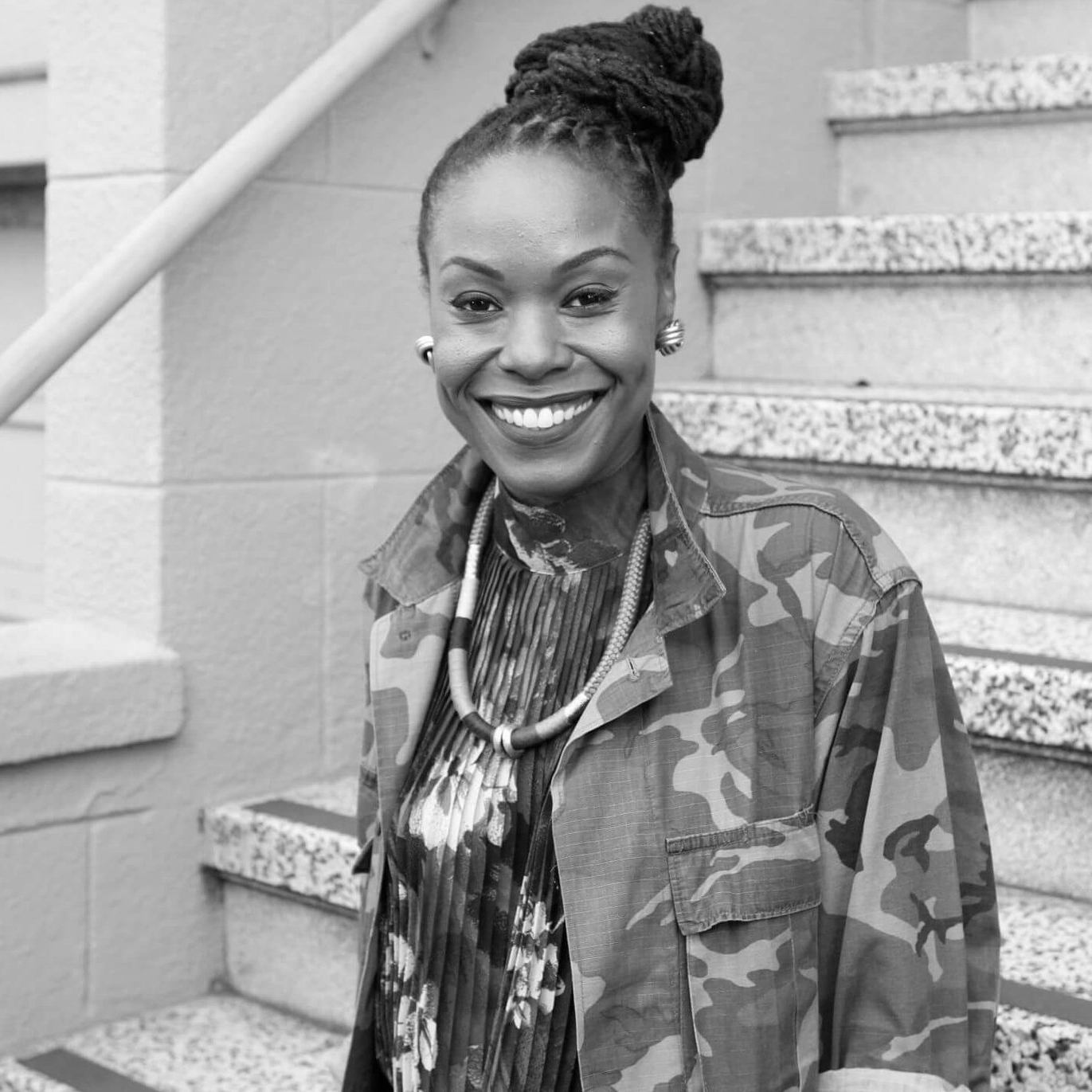 """Zakiya Harris  is a Cultural Architect, Artist and Educator working at the intersections of entrepreneurship, 21st century education and creative transformation. She joined the LATE NITE ART team as a facilitator in 2018. Zakiya is a co-founder of nationally recognized projects  Impact Hub Oakland ,  Grind for the Green  and a Fellow of  Green For All  and Bold Food. Currently, she is the Chief Innovation Officer at  Hack the Hood  a technology program for low-income youth of color. Recently, Zakiya published her first book  Sh8peshift Your Life: The Creative Entrepreneurs Guide to Self Love, Self Mastery and Fearless Self Expression . When she is """"off the clock"""" you can find her  singing  her heart out onstage, reading Octavia Butler or cooking with her 12 year old daughter."""