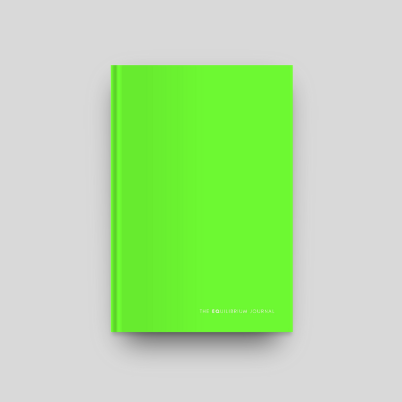 The Equilibrium Journal, Green | $28