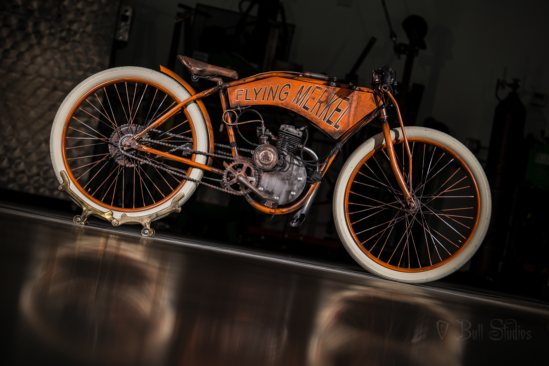 Flying Merkel Board Track Racer Tribute Bike