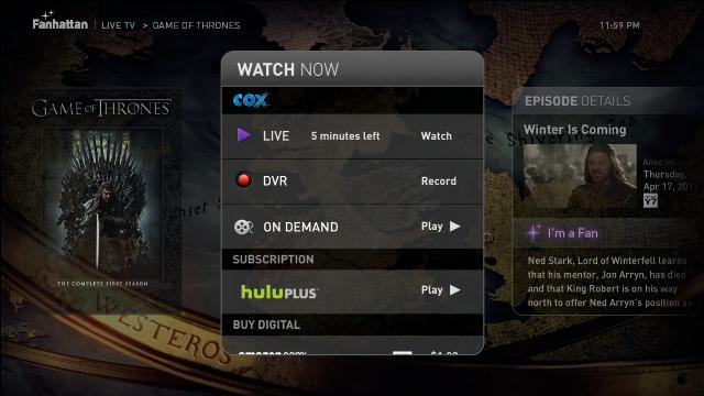 Show Detail Screen
