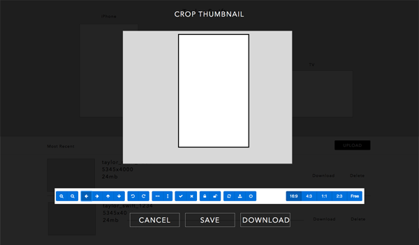 Rough Image Editor Wireframe