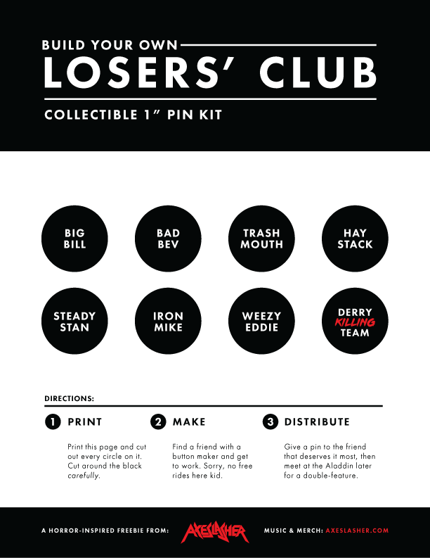 BYO Losers' Club Collectible 1