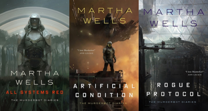 martha wells the murderbot diaries
