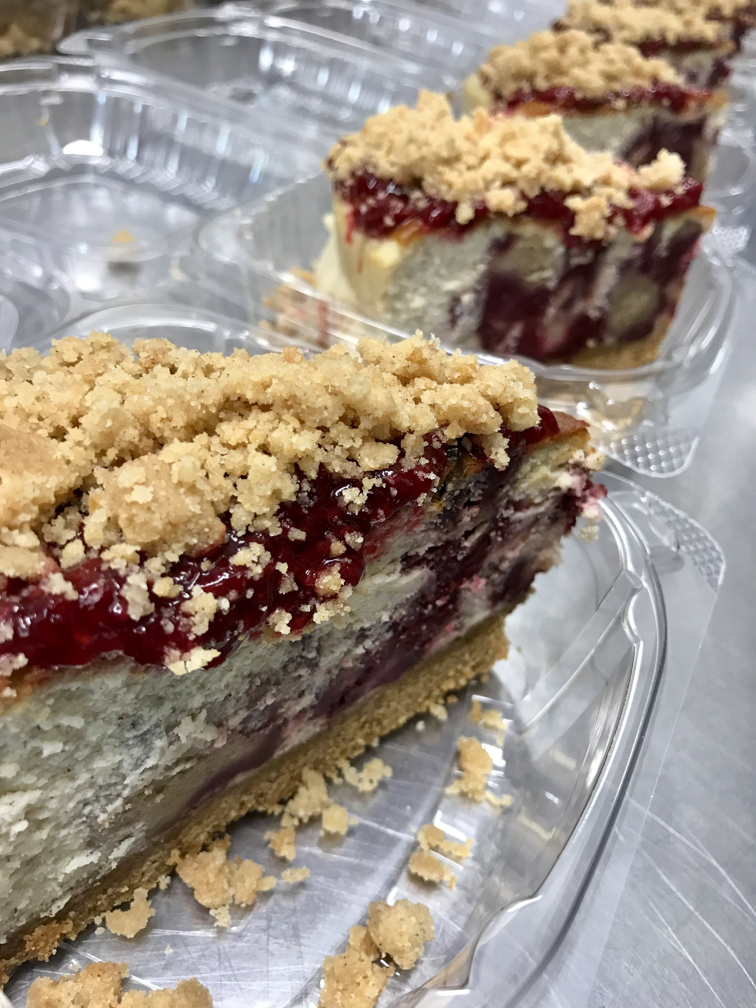 What's your cobbler mood this weekend? - Peach Cobbler or Strawberry Cobbler ? (available Saturday and Sunday)