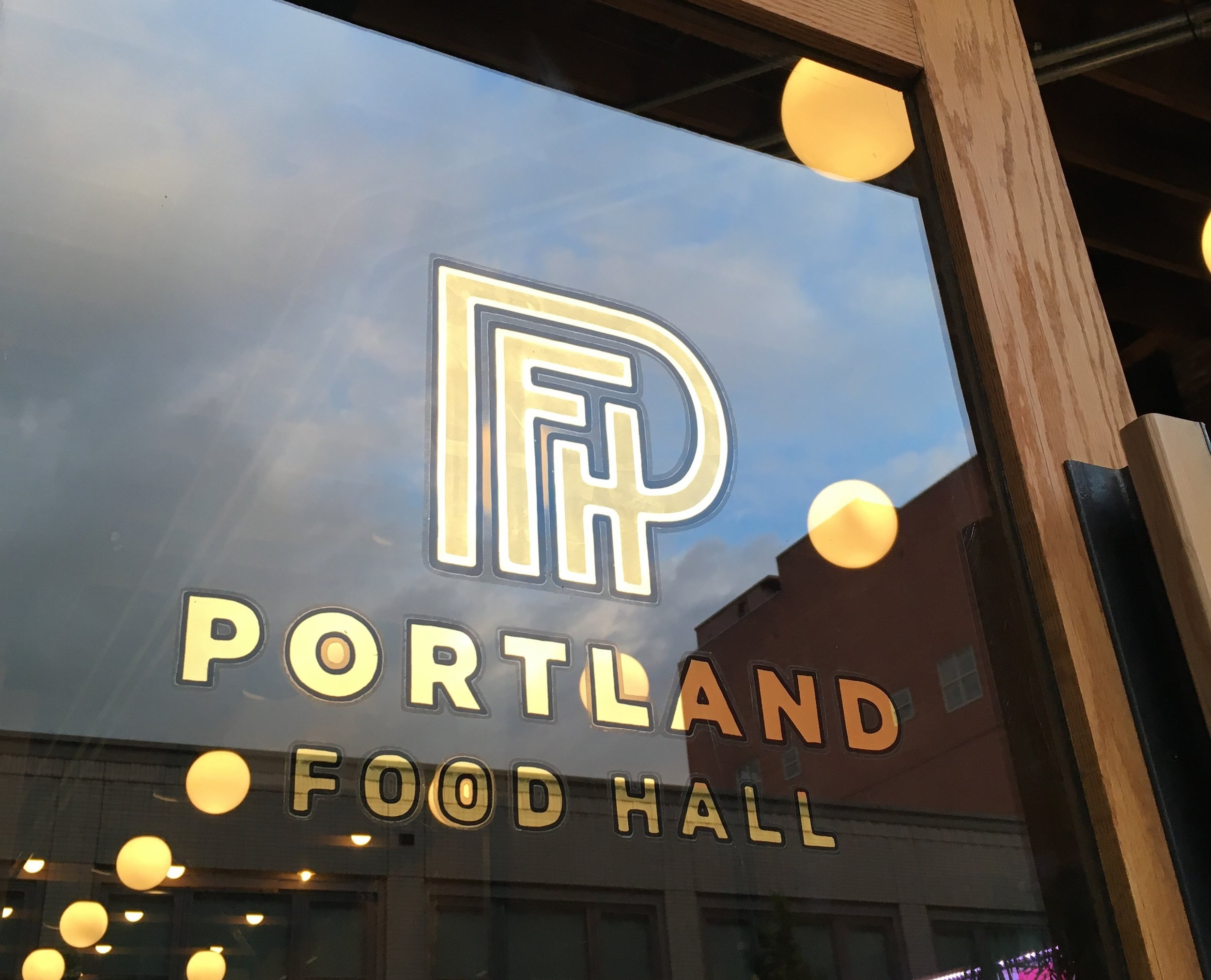 Portland Food Hall - Branding and collateral for a new restaurant venue in downtown Portland.