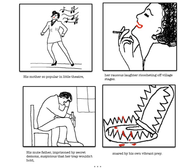 My Husband, a Graphic Poem by Velvet Haney