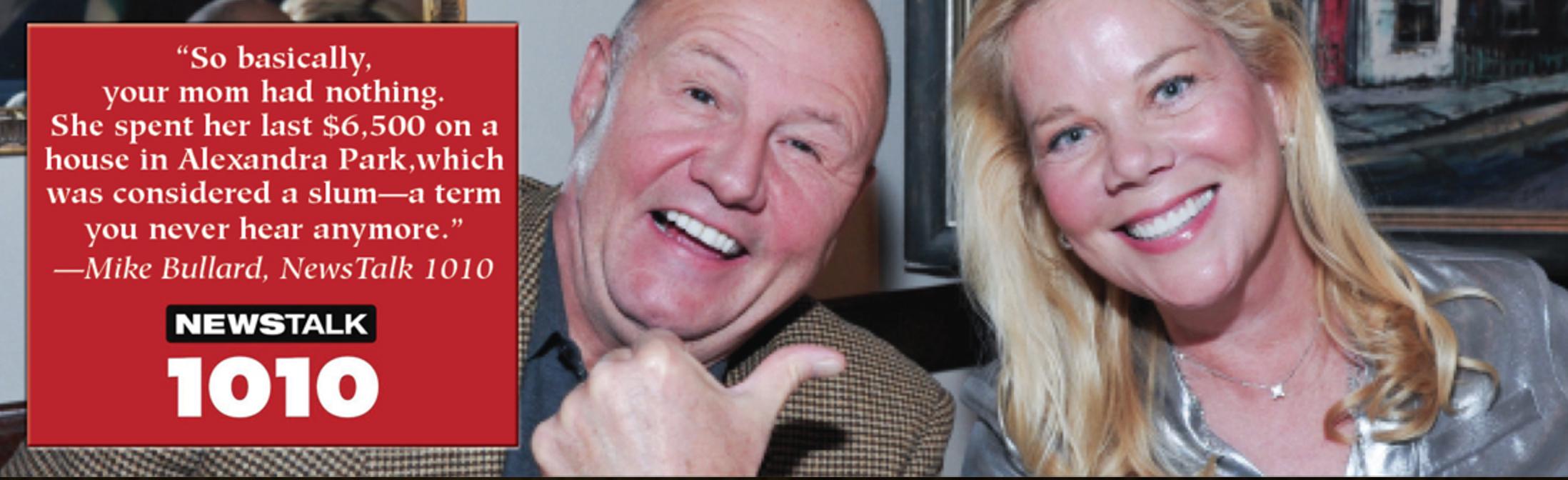 Velvet Haney on NewsTalk 1010 with Mike Bullard