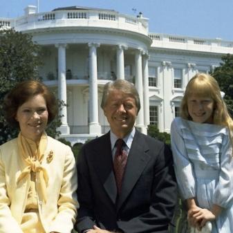 Rosalynn, Jimmy, & Amy Carter