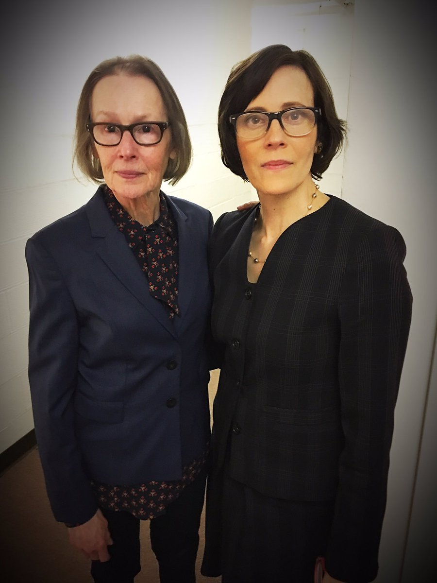 Secretary #44 (Left: Susan Blommaert) & Secretary #97 (Right: Joanna P. Adler)  The Mr. Kaplans on The Blacklist