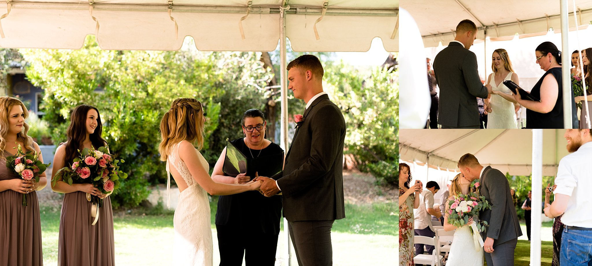The ceremony was my favorite kind of ceremony; short, sweet, and personal.