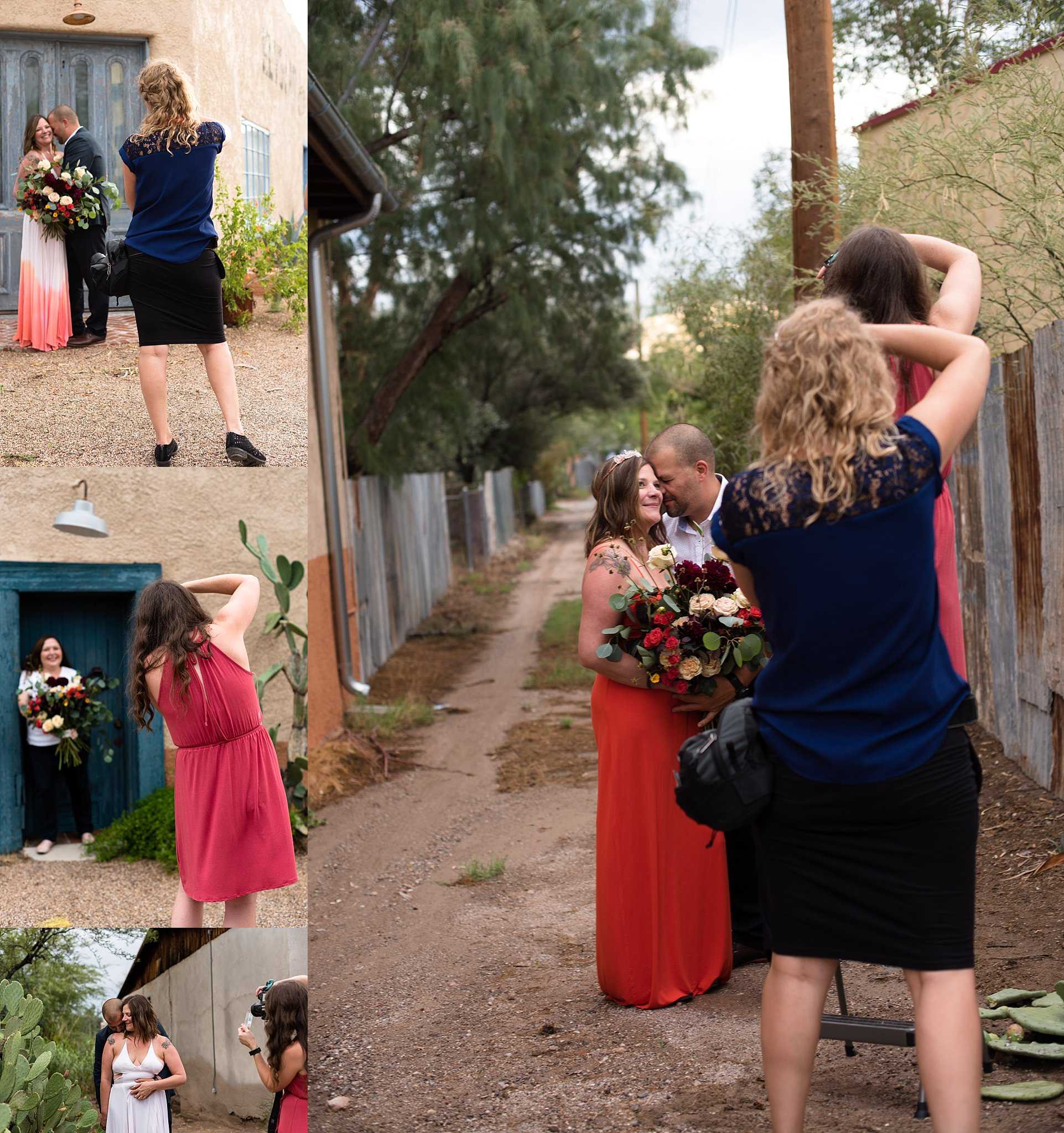 Here are just a few fun behind the scenes shots I took while Amanda and Misty were setting up some shots! I'm so grateful that I have an awesome creative community.