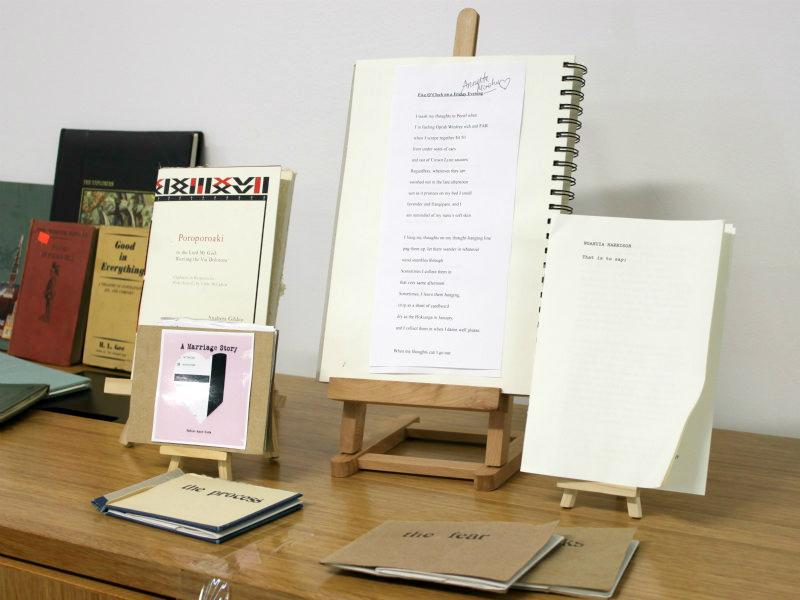 Books Displayed Māori for Awa Wahine