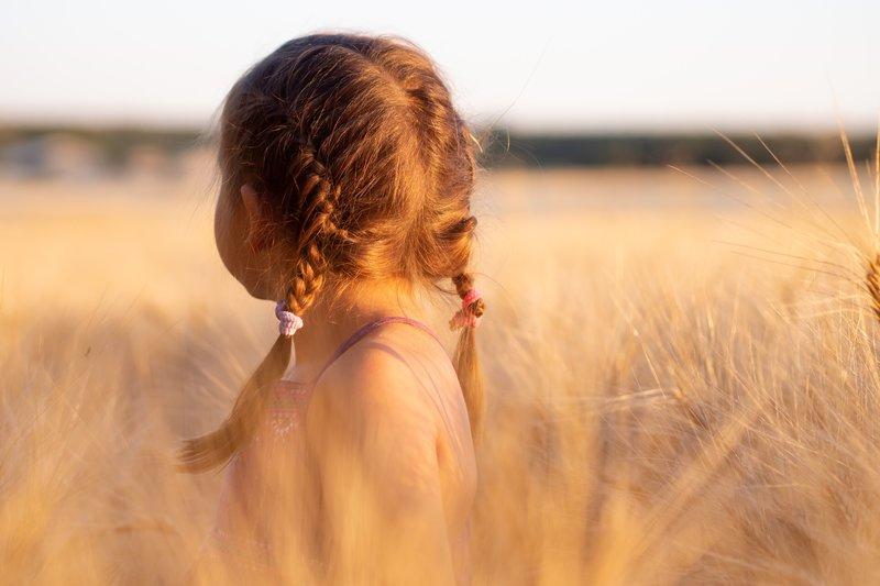 Girl in Grass for Awa Wahine