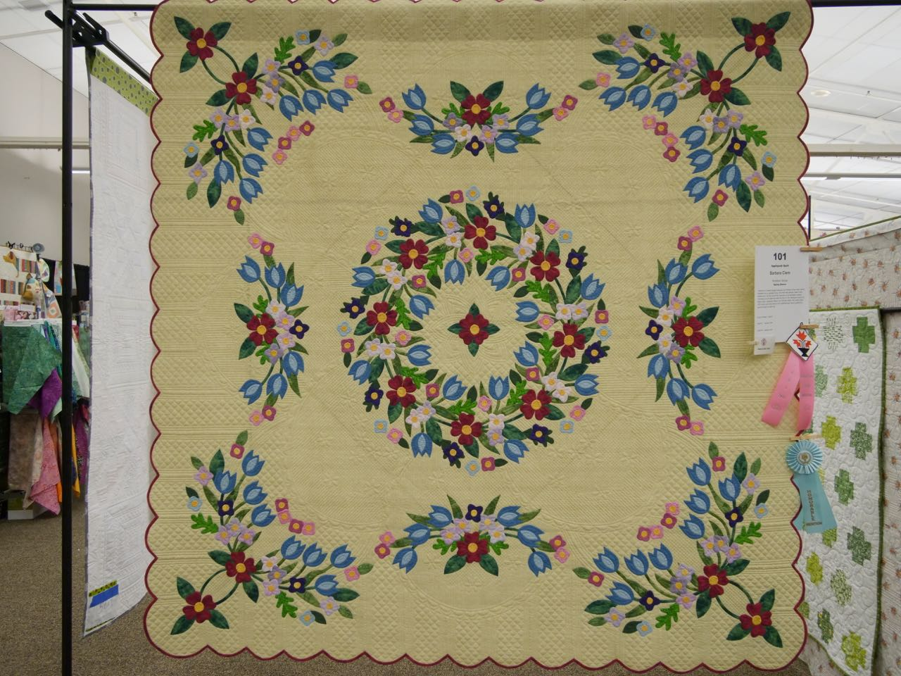 Spring Dance - Exemplary Hand Quilting