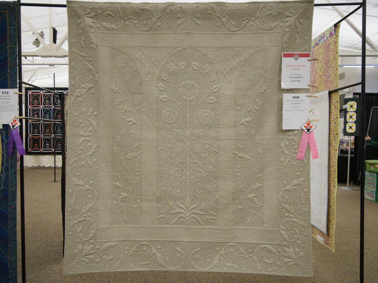 First Frost - Exemplary Machine Quilting