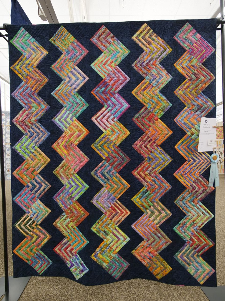 Joseph's Coat - Honorable Mention, Large Pieced Quilts