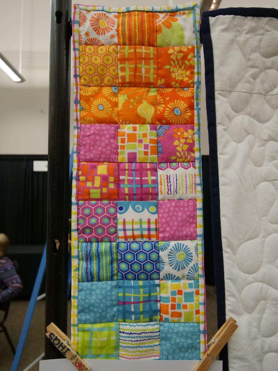 Colorful Nine Patch - Young Quiltmaker