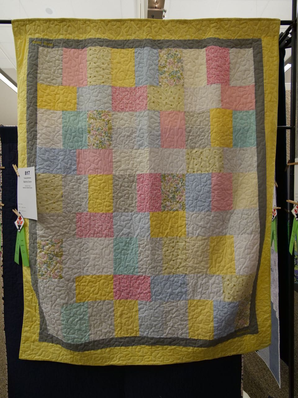 Sabrina's Cheerful Creation - Young Quiltmaker