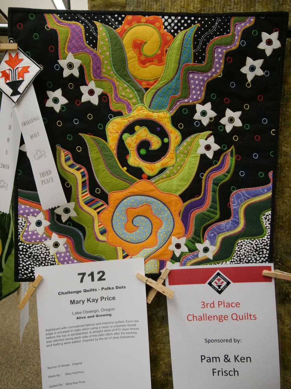Alive and Growing - 3rd Place, Polka Dot Challenge