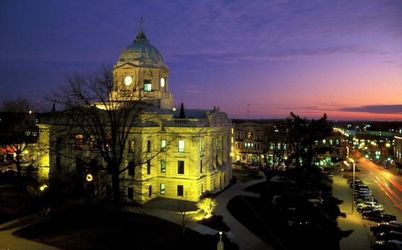 The Courthouse in Bloomington, Indiana