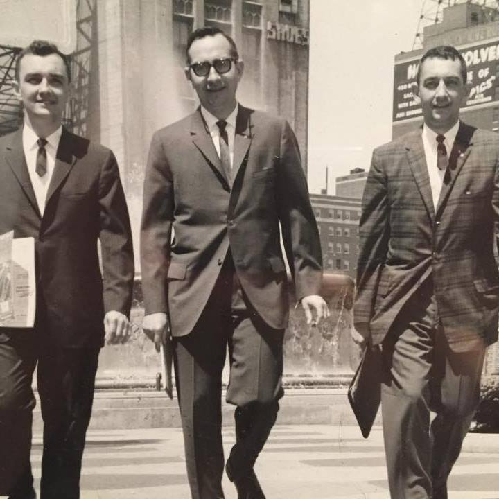 Al, Don and Rich in Detroit 1960s