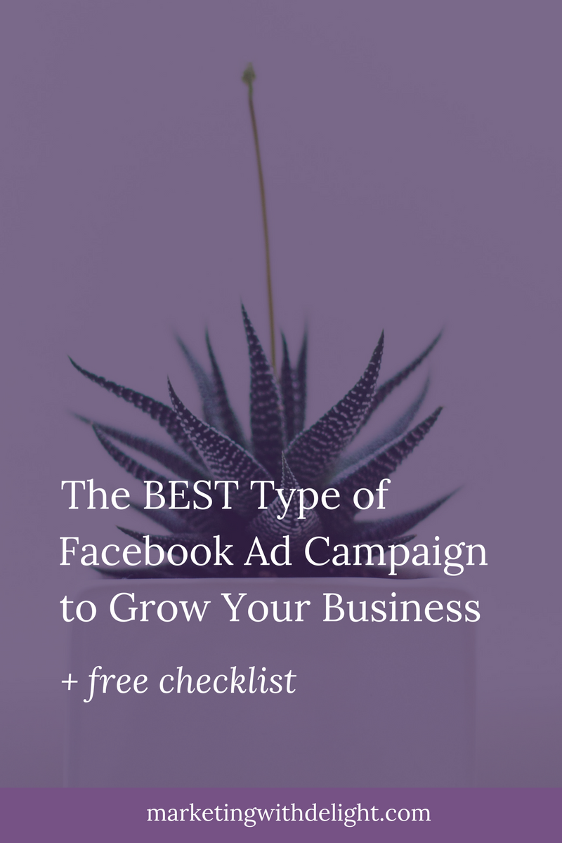 When it comes to Facebook ads, there are so many choices! But here's the campaign that I think is most worth your time and money investment. | Facebook ads tips | Facebook ads examples | Facebook marketing | Awesome Facebook ads | Content marketing | Facebook ads marketing | Email marketing | Facebook marketing strategy | #emailmarketing | #facebookadstips | #facebookmarketing | #facebookmarketingtips
