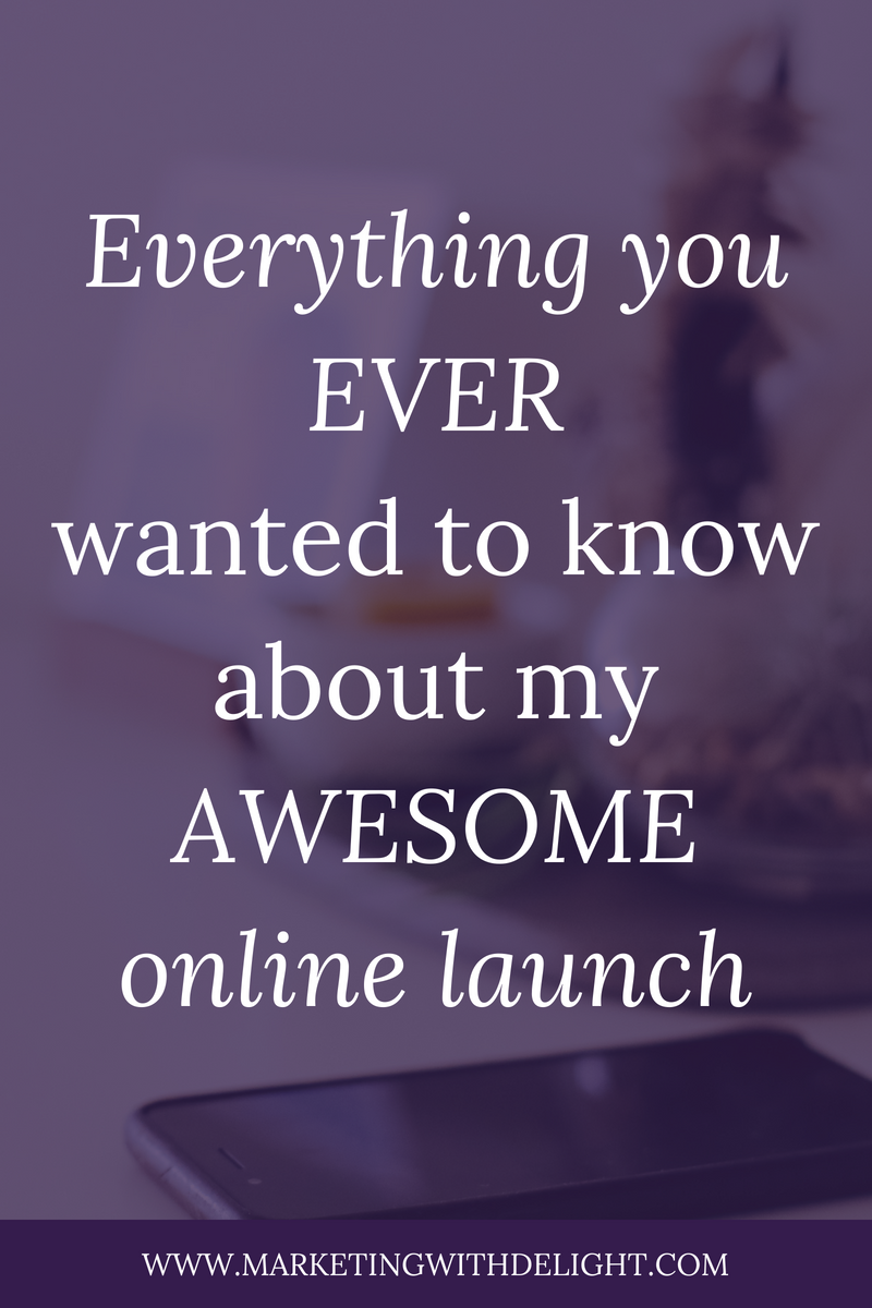 Curious what launching an online program REALLY looks like? Take a behind-the-scenes dive into my awesome launch in this post. You'll hear about the wins AND the failures. Online marketing | Facebook ads tips | Facebook ads strategy | Awesome Facebook ads | Facebook ads | Facebook marketing | Facebook for business | #facebookmarketing | #contentmarketing | #facebookmarketingtips | #facebookadstips | #onlinemarketing