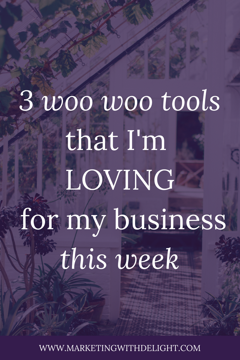I believe that my attitude and energy are SO important for my business success. Here are 3 (unexpected) tools that I'm using to raise my vibration and support my biz this week.