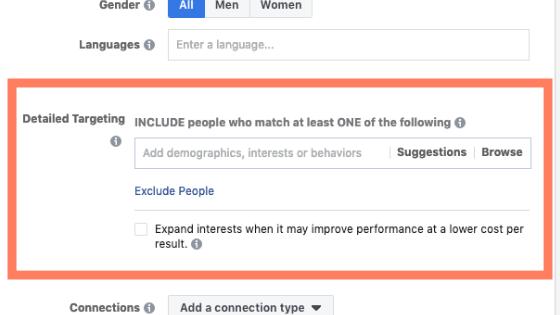 Facebook ads mistake 1