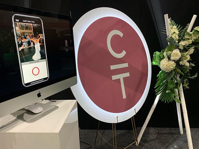 Launching the very exciting @capture_too_weddings video app by @c2films @weddingandbrideexpo this weekend in Melbourne. Thank you to our partners:  STYLING @weddingsofdistinction & CAPTURE TOO SIGN @abacus_visual #CaptureToo #video app #getcaptured #captureyourevent #weddingexpo #loveanexpo #weddingvideography