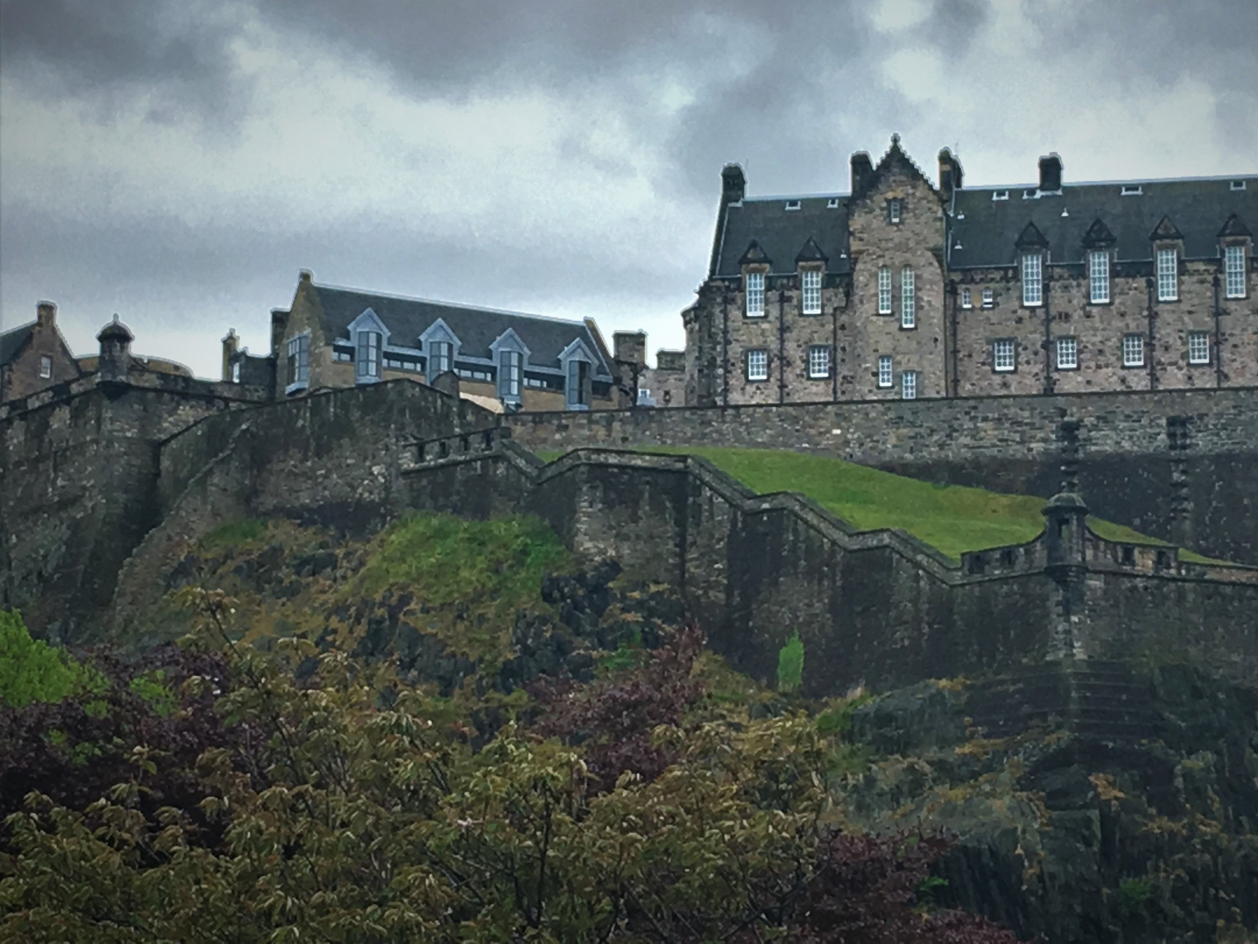 Edinburgh Castle - May, 15 2017This was, in fact, the very first castle I saw and was able to go inside of! Spooky, gorgeous, and a tad chilly on that Scottish hill!