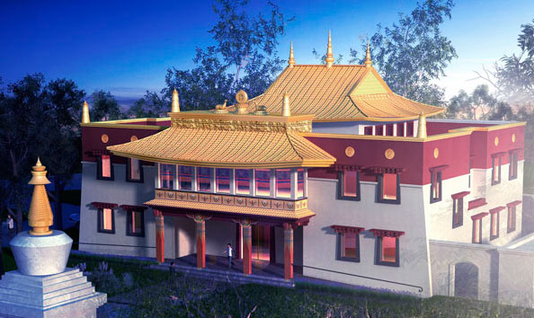 Just Imagine...A Tibetan Buddhist Temple in the heart of Australia's Capital City, Canberra. - ~ An initiative of Sakya Losal Choe Dzong, Tibetan Buddhist Society of Canberra