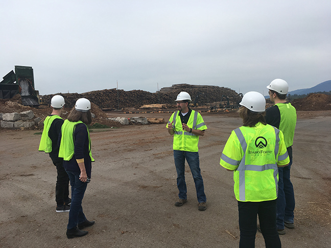 Touring Idaho Forest Group's Chilco Mill - Athol, ID