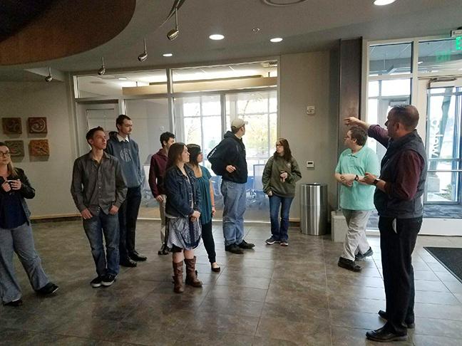 Tour of tech company Ednetics - Post Falls, ID