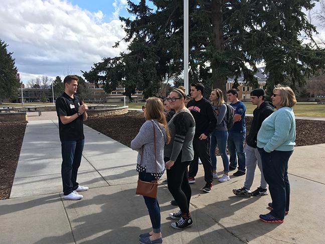 Tour of Idaho State Univeristy's campus - Pocatello, ID