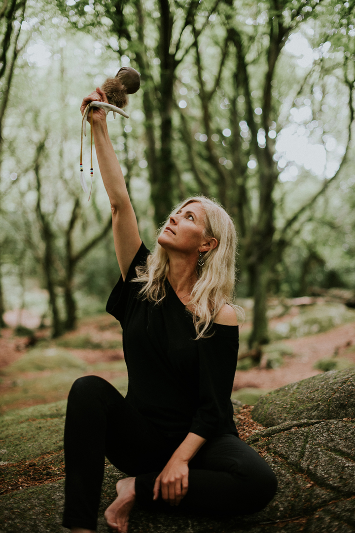 """""""If women remember that once upon a time we sang with the tongues of seals, and flew with the wings of swans, that we forged our own paths through the dark forest while creating a community of its many inhabitants, then we will rise up rooted, like trees.""""  (S. Blackie) photo, Saibh Egan"""