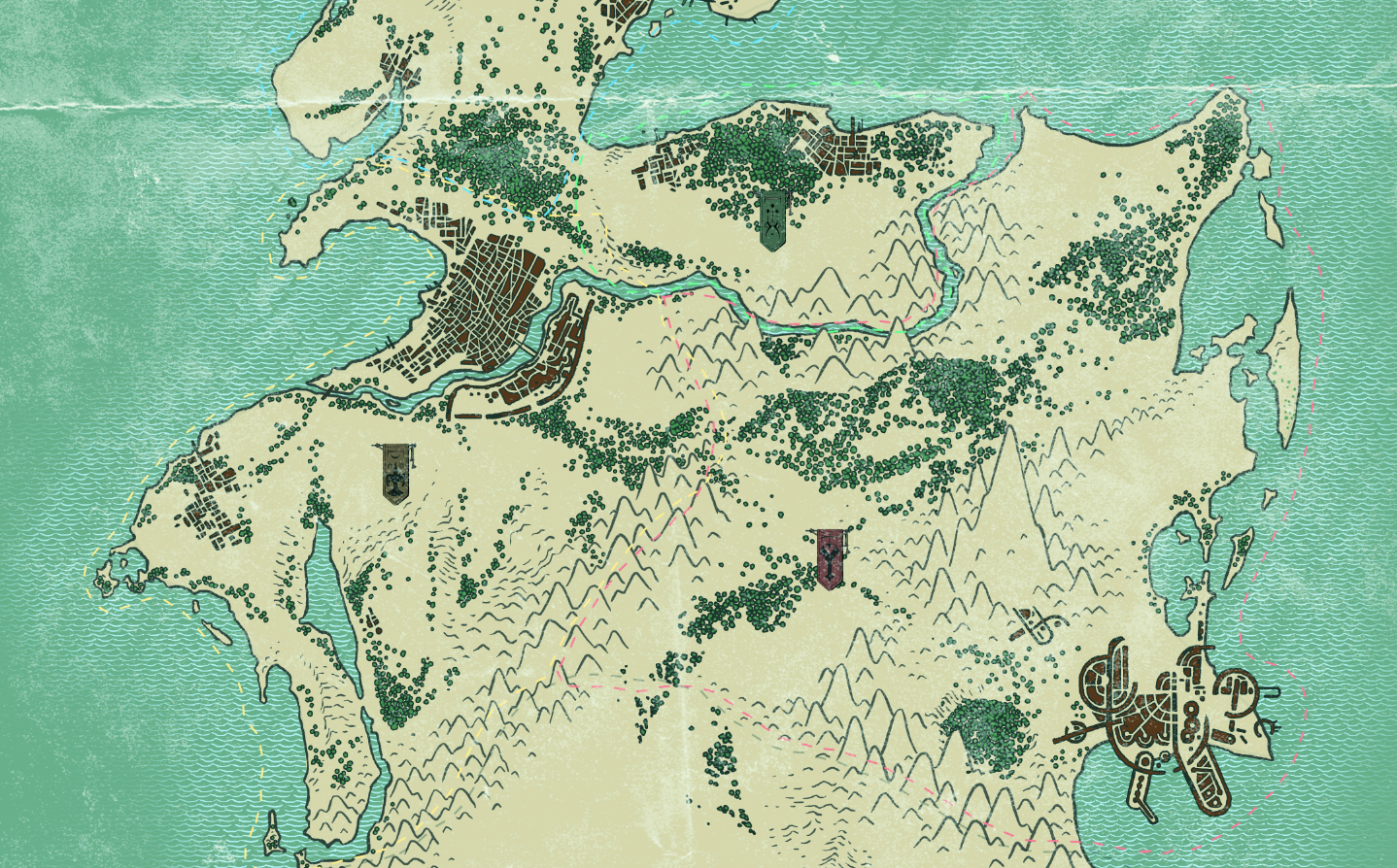 Preview of Halfwing world map