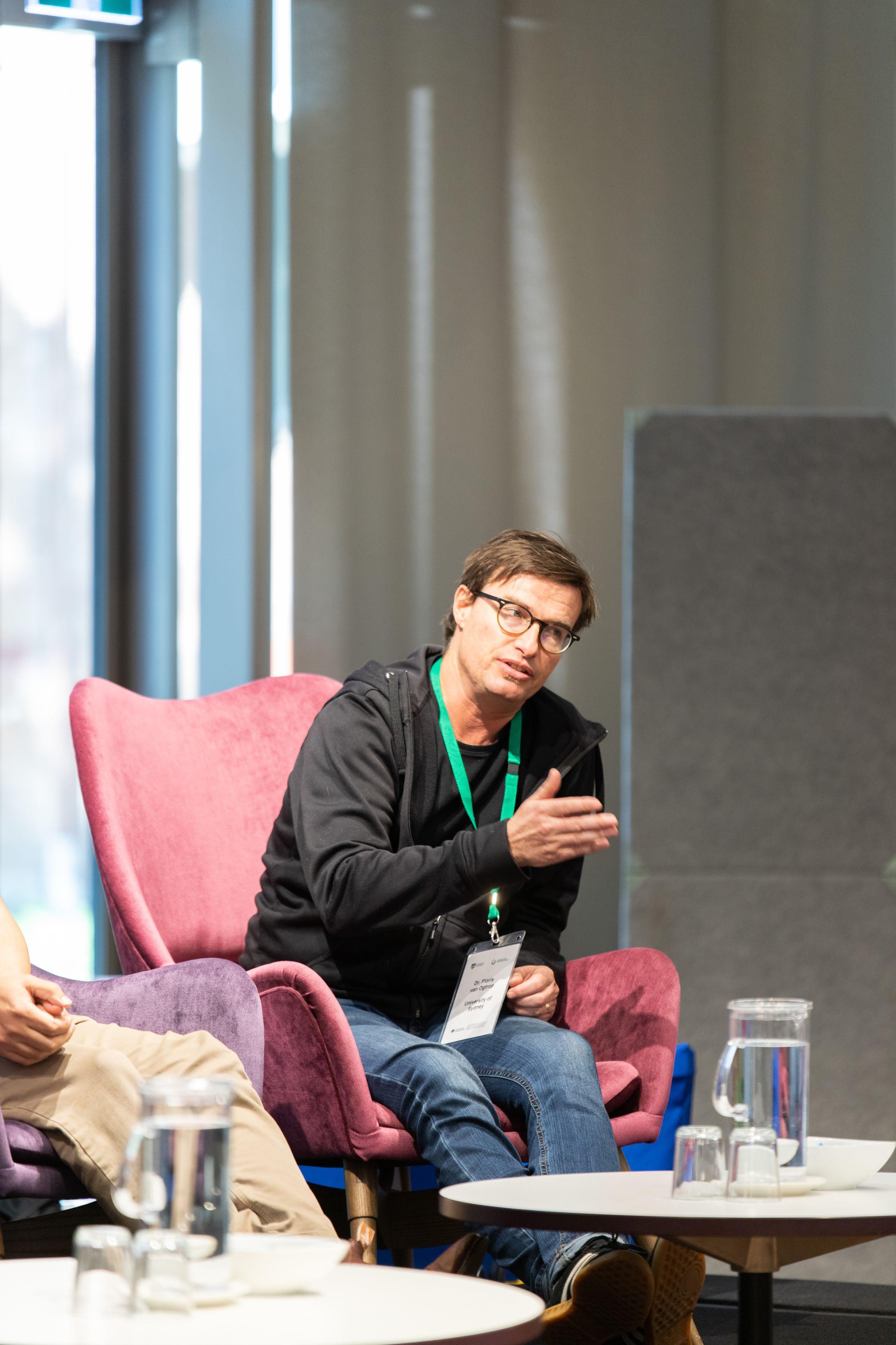 Dr Floris Van Ogtrop during Q&A session
