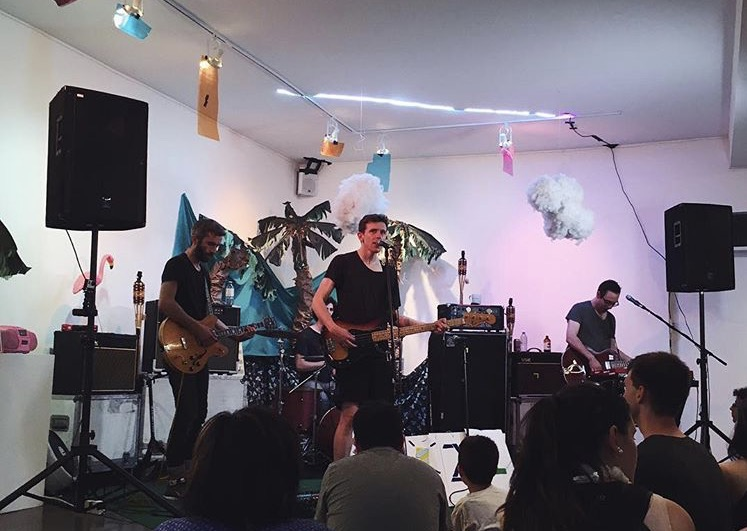 Tokyo Police Club record launch event and   12 hour music marathon, 2016.
