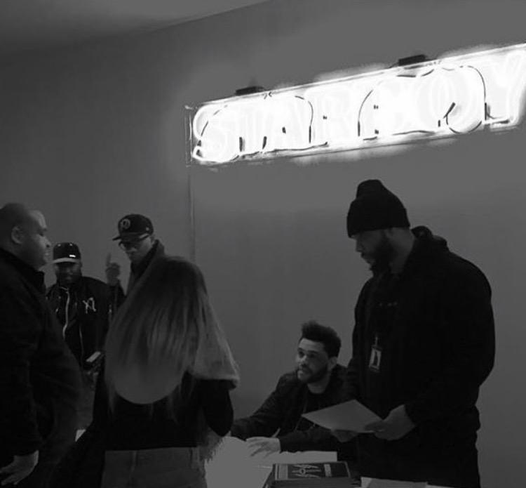 Commercial pop-up and cultural event,  Starboy, 2016.