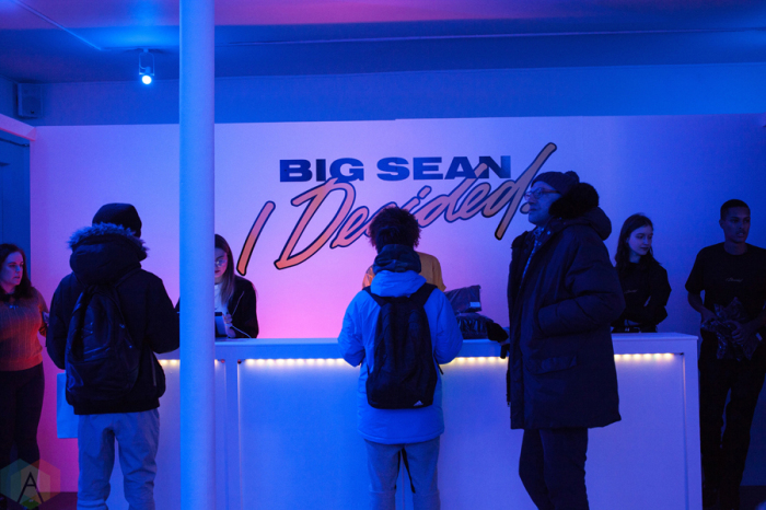 Commercial Event Destination: Big Sean's Toronto tour's pop-up.