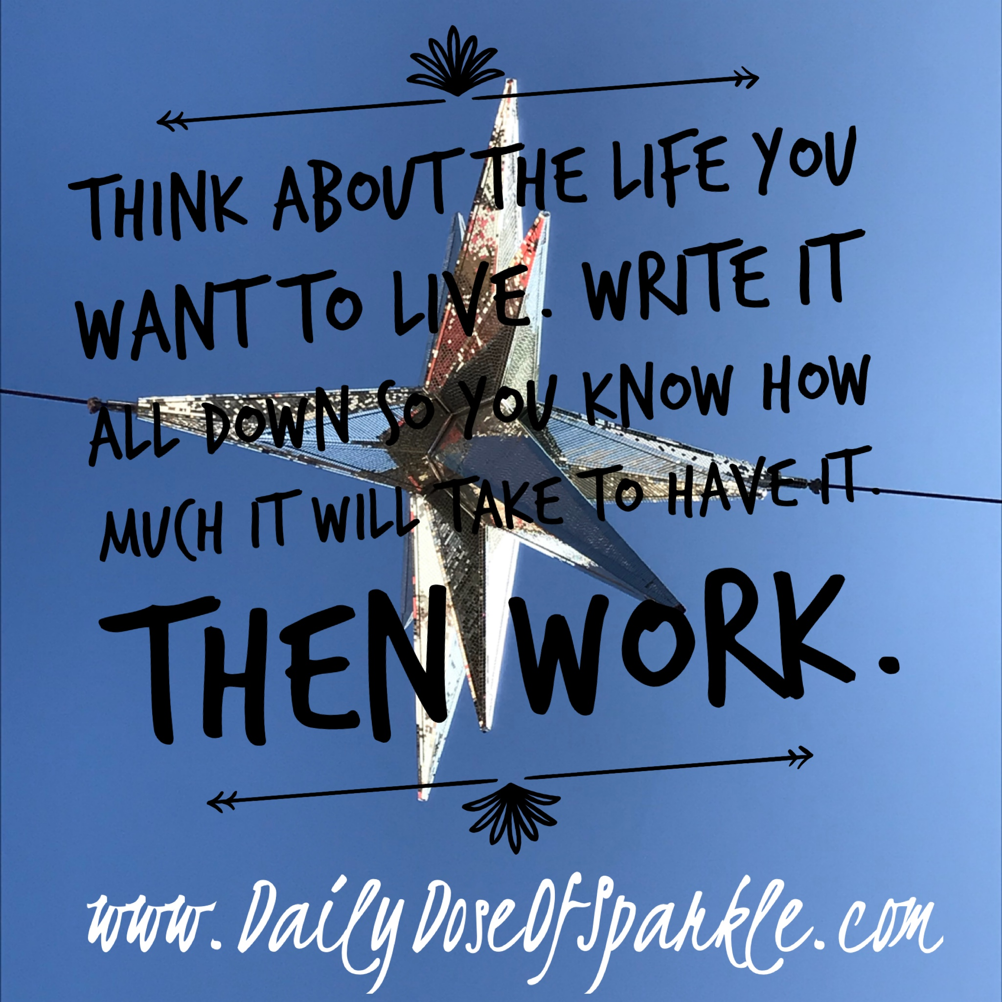What do you Want? - Be clear on the life you want and how much it will cost to get it. Get specific.