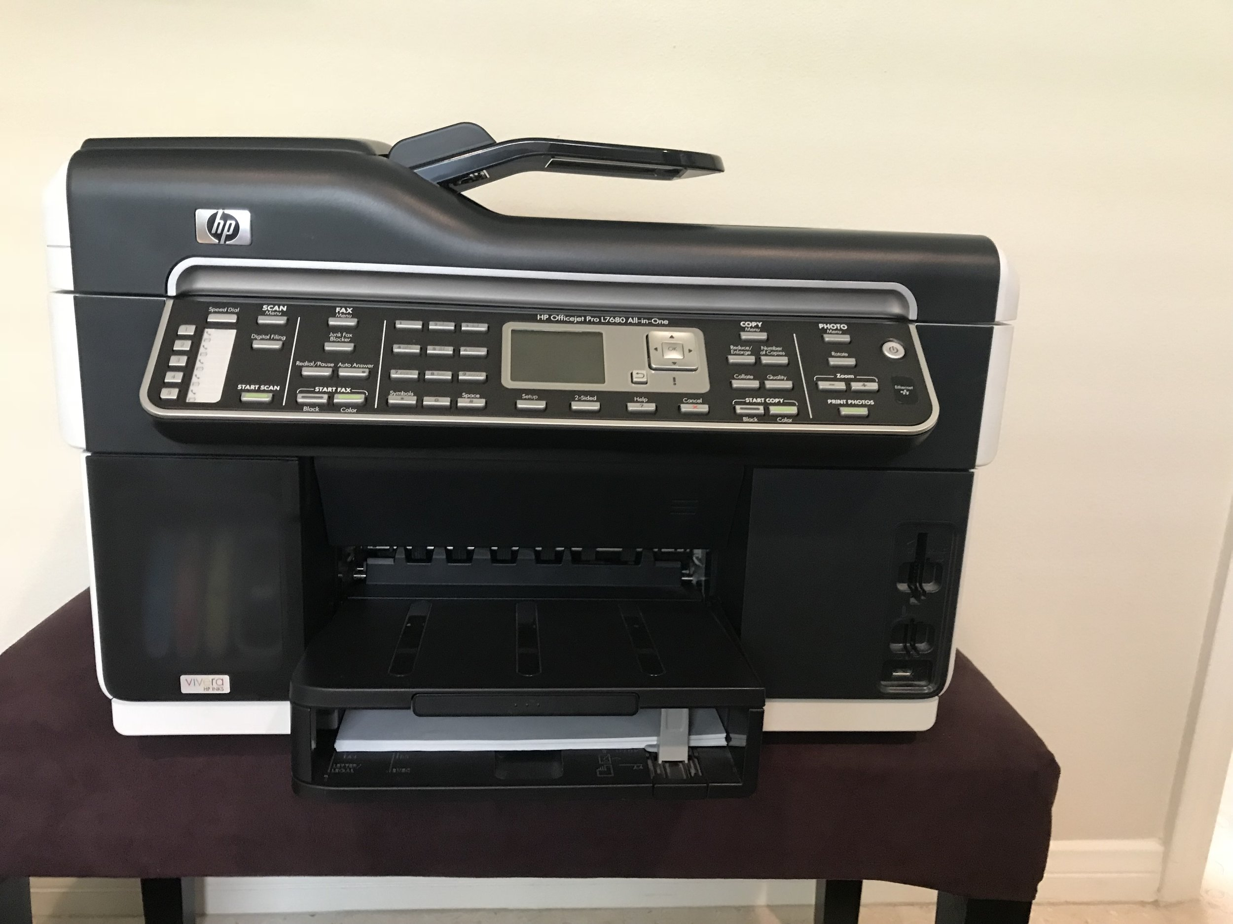 Old printer - Hit puberty and developed and attitude. It was about $300-$400 when I got it and weighs a ton... no longer prints.