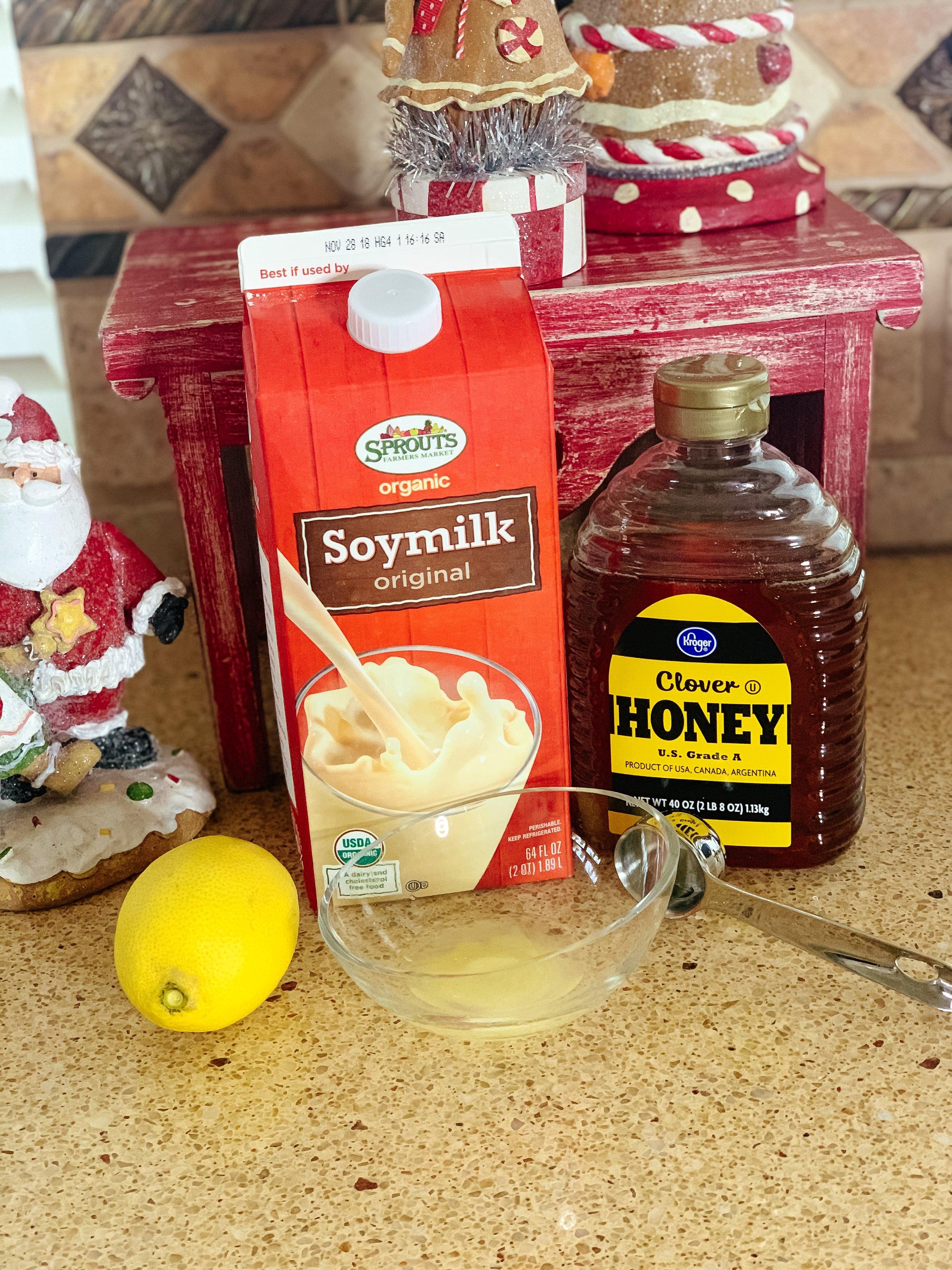 Potion - Honey, soy milk, lemon!