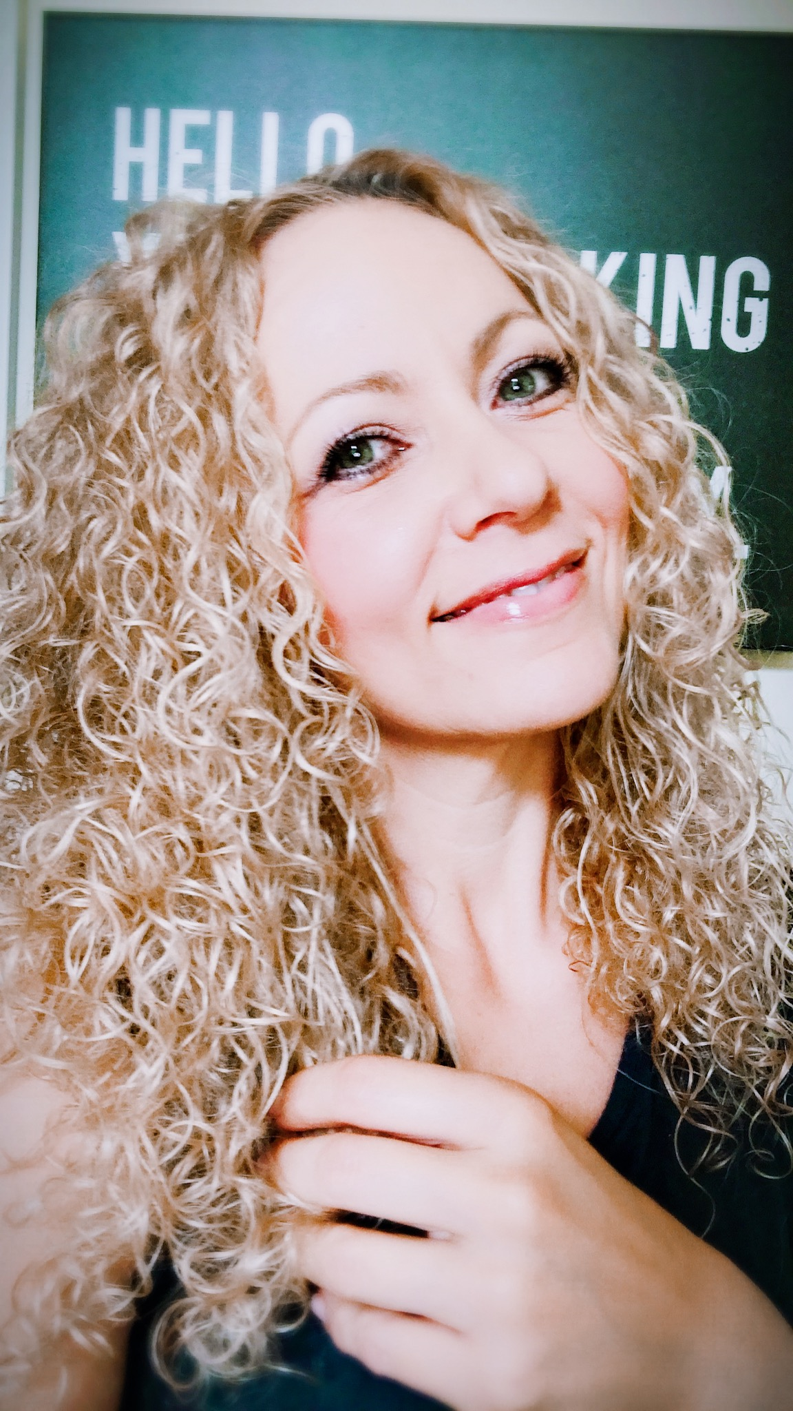 Happy Curls - A little water and products…as good as new
