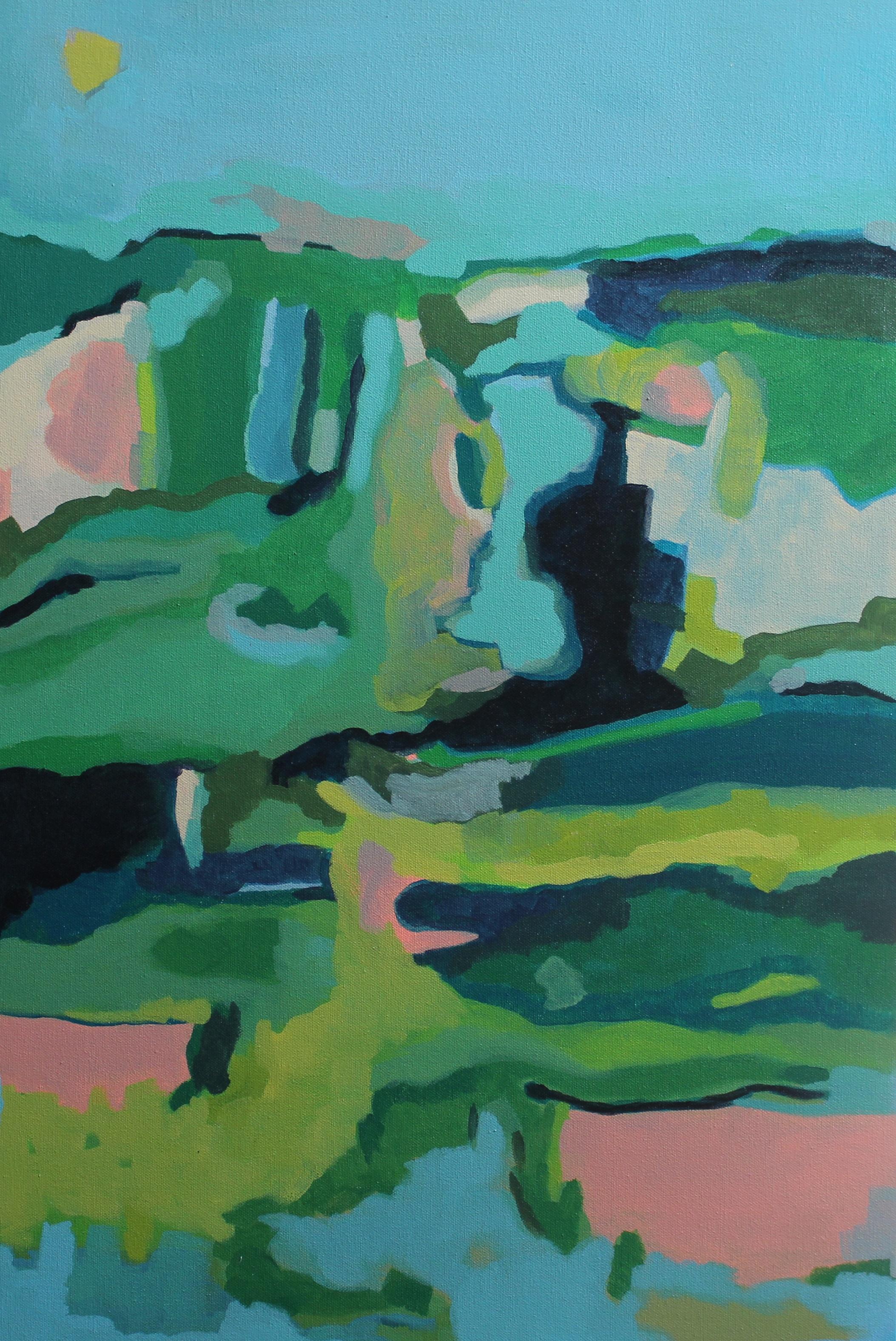 1. the hills 51 x65cm Canvas and Acrylic.JPG