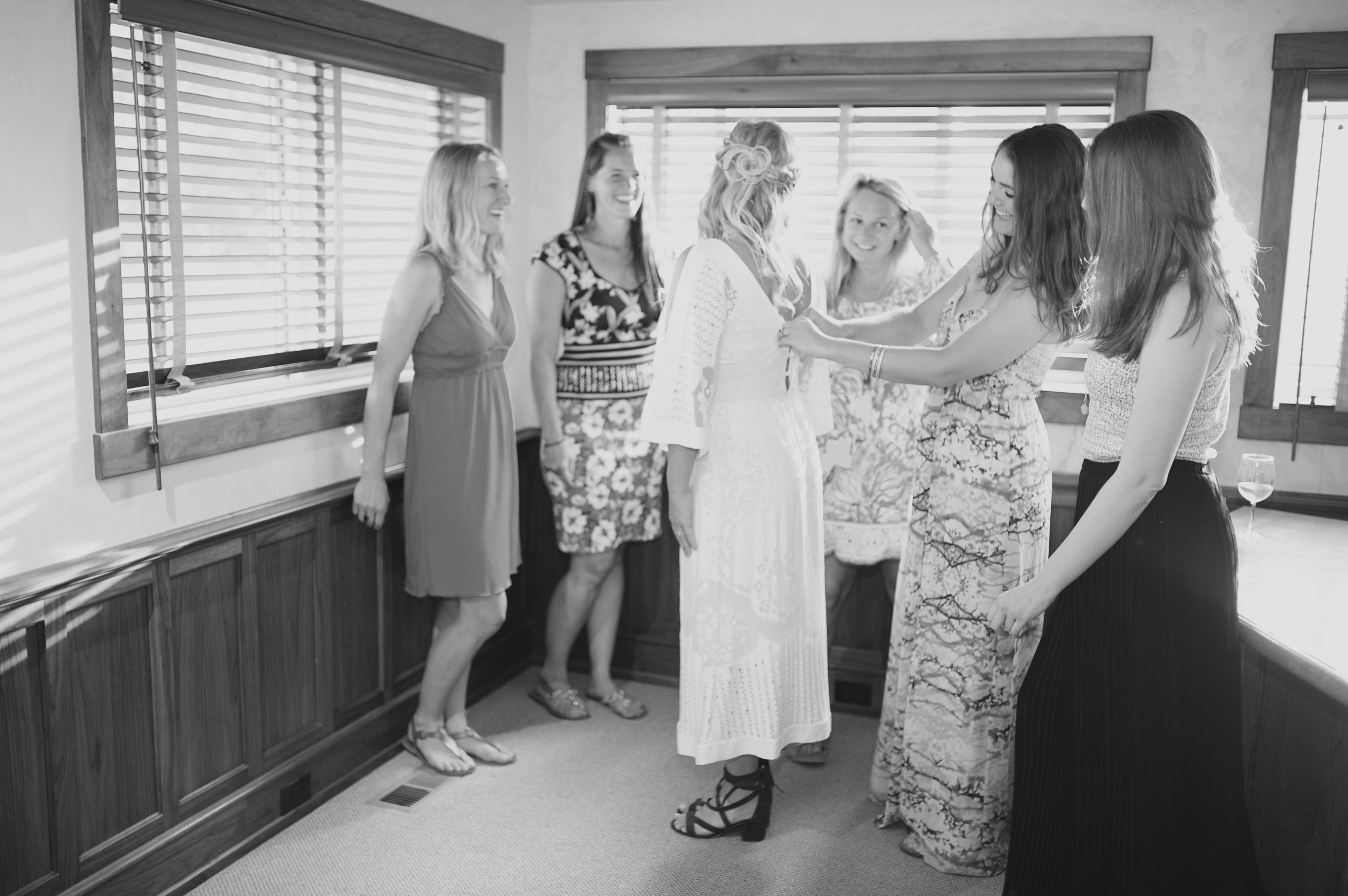 Bridal Suite -  Enjoy a private on location area to get ready, room for you and the bridal party. Inquire about availability with your booking.
